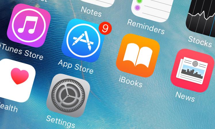 App Store Ansicht iPhone iOS 9